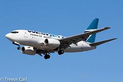 WestJet   C-GWSK   Boeing 737-6CT   YVR   CYVR (Trevor Carl) Tags: 7376ct aviation boeing avgeeks photo 34287 aircraft airplane alltypesoftransport cgwsk cyvr plane transport vancouverinternationalairport westjet yvr airlinersnet