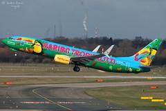 TUIfly (ab-planepictures) Tags: dus eddl düsseldorf flugzeug flughafen polderbaan airport plane planespotting aircraft aviation