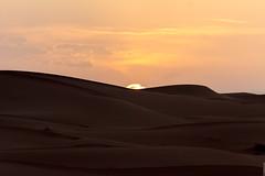 Sunset over the sahara (Nicolas Bussieres (Lost Geckos)) Tags: desert sahara morocco dunes sunset