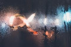 Sony Alpha (gaborville) Tags: sony alpha night midnight bokeh blurry water droplets waterdrops window sonyalpha