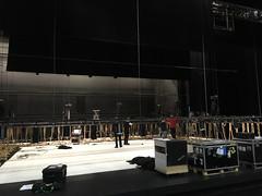 Chaillot set-up (Tero Saarinen Company Photostream) Tags: théâtrenationaldechaillot tscontwocontinents tscinparis morphed terosaarinencompany chaillot stage setup