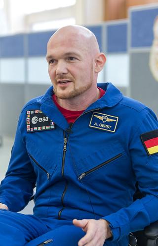 Alexander Gerst in Star City