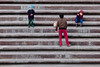 Let's Play Football (Mucahit Cetin) Tags: children kids football ball stairs play sport soccer steps stair people concrete
