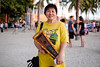 Stranger In Honolulu, 14 (_Codename_) Tags: strangerin stranger portrait honolulu hawaii waikikibeach yellow ukulele pig waikiki