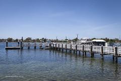 Merimbula (Adam Dimech) Tags: wharf jetty water coast boat landscape merimbula nsw newsouthwales australia