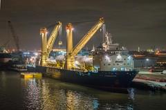 Fairmaster (181pics) Tags: portaits availablelight nautical maritime texas sonya7r2 crane heavylift hdr lowlight night ship