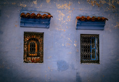 Windows (kimnnn) Tags: windows morocco africa travel chefchaouen architecture