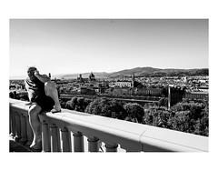 Florence (Roman Lunin) Tags: street streetphotography streetphoto strangers streetbw blackandwhite blackwhite blackwhitephoto bw blackwhitephotography monochrome italy florence