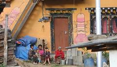 Village House-Sopsokha village  (8) (Richard Collier - Wildlife and Travel Photography) Tags: bhutan sopsokhavillage phallus religion paintingsartwork buddhism