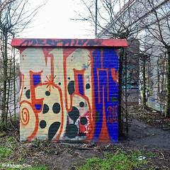 Den Haag Graffiti (Akbar Sim) Tags: transformatorhuisje denhaag thehague agga holland nederland netherlands graffiti binckhorst akbarsim akbarsimonse