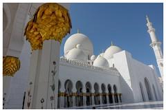 Sheihk Zayed Mosque (posterboy2007) Tags: sheihkzayedmosque uae abudhabi mosque muslim white religion
