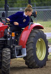 Tractor Driving Competition (swong95765) Tags: girl driver tractor competition skill driving competing
