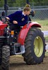 Tractor Driving Competition (Scott 97006) Tags: girl driver tractor competition skill driving competing