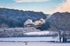 Steaming through a  Winter wonderland ... (inspiring.images) Tags: 80072 santa special severn valley railway snow svr victoria bridge
