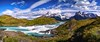 Salto Grande in Torres del Paine (hacenem) Tags: chile patagonia puertonatales torresdelpaine salto grande loscuernos cerro waterfall paine