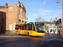 trent barton 806 Ilkeston (Guy Arab UF) Tags: trent barton 806 yj11enl optare versa v1110 branded my15 bus ilkeston market place derbyshire wellglade buses wellgladegroup