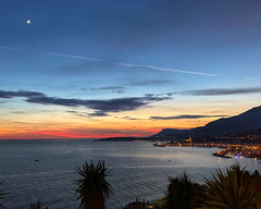 2018 winter on the Riviera [II] (Olivier So) Tags: france frenchriviera riviera sunset sky clouds menton