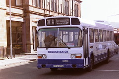 WEIR'S BUS SERVICES DEMONSTRATOR YEV313S (bobbyblack51) Tags: weirs bus services yev313s leyland national volvo repowered demonstrator easternnational 1855 helensburgh 1995