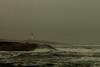 A Beacon in the Fog (langdon10) Tags: atlanticocean canada canon70d lighthouse novascotia peggyscove shoreline storm surf ocean outdoors waves winter