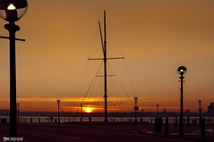 Sunset (Bob Edwards Photography - Picture Liverpool) Tags: sunset evening rivermersey merseyside waterfront night bobedwardsphotography
