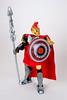 Achilles (Mitch Henry) Tags: achilles moc lego legos roman greek mythology myth actionfigure illiad spear shield gold silver toy toyphotography toys