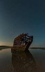 Peter Iredale shipwreck (Dan M. Thompson) Tags: oregon coast pnw pacific northwest beach shipwreck urbex abandoned pacificocean ocean tone texture moody astrophotography reflection nikkor nikon d800e longexposure openshutter landscapephotography landscape induro fortstevens peteriredale urbanexplore inexplore exploration travel fineart photographer nightscape nightsky starrynight nightphotography thebeach nightshooter