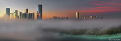 Abu Dhabi (Yousef Al-Habshi) Tags: abu dhabi fog island morning sunrise towers d850 yousef al habshi nikonmea