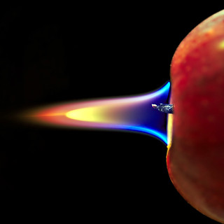 Apple Burner Flame HMM!