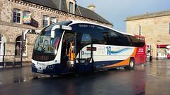 Stagecoach Bus, Service 10, Aberdeen to Inverness, Nov 2017 (allanmaciver) Tags: stagecoach travel bus red white wheels inverness aberdeen coach sleek new machine eastgate centre highlands scotland allanmaciver