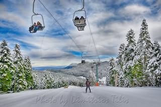 Χιονοδρομικό κέντρο Περτουλίου Pertouli ski center