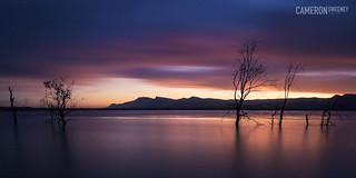 Lake Fyans Sunset