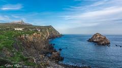 Cap de garde (Bilel Tayar) Tags: cap lighthouse phare mer mediteranée sea rock rivage littoral mediteranean seascape landscape annaba algeria algerie roche rocheux sky clouds ciel bleu blue