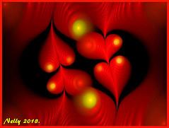 *Love...!* (MONKEY50) Tags: art heart abstract digital love fractal colors red shockofthenew artdigital hypothetical exoticimage netartii flickraward musictomyeyes autofocus awardtree contactgroups beautifulphoto