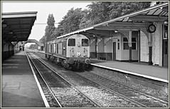 Returning to work (david.hayes77) Tags: 1976 ilford fp4 mono monochrome blackandwhite bw class20 20071 englishelectric type1 beeston nottinghamshire 20169 acutol