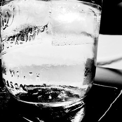 Vodka and water