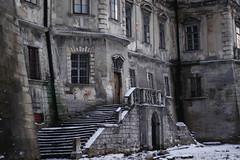 Castle de la Fartin. Rear entrance (archpriestess) Tags: lviv lwów castle architecture castles podgoretsky pidhirtsi