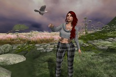 When Doves Cry (cejalaval) Tags: secondlife sl scenic shadows slfashionblogger fashion freckles firestorm fashionblogger fashionblogging fashionblog redhead tonic tattoo laq mesh moz yorkshire blog bento bird dove pose magika greeneyes