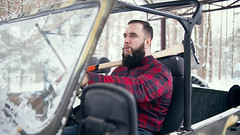Bearded man in car (n_lev44) Tags: ifttt 500px forest portrait winter cold nature north man style snow alone smoking serious caucasian looking forester hold guy shirt cigar equipment rural outdoors beard jeans work casual strength brutal stylish axe mustache macho job cutter professional lumberjack tough hipster woodsman wintertime