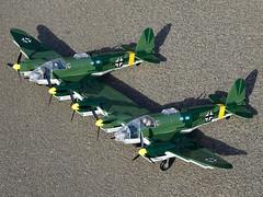 Cobi_Heinkel_He-111_Z-1_Zwilling_MOC_01 (El Caracho) Tags: cobi small army building blocks ww2 warplane plane bomber heinkel he111 zwilling moc