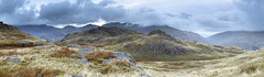 Spot the Sheep Harter Fell Panoramic (Benjamin Driver) Tags: sheep panorama panoramic panoramiclandscape landscape land scape summer 2017 cumbria lake district lakedistrict landscapes lee leefilters harter fell harterfell hardknott hardknottpass pass wrynose wrynosepass blue morning cloud clouds