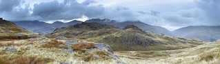 Spot the Sheep Harter Fell Panoramic