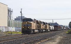 Detour Friday (imartin92) Tags: berkeley california unionpacific freight train railroad ge generalelectric es44c4 es44ac gevo ac4400cw emd sd70ace locomotive