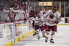 Hockey v Lowell -13 (dailycollegian) Tags: carolineoconnor umass amherst mullins center press conference umasslowell lowell shutout win matt murray niko hildenbrand coach carvel
