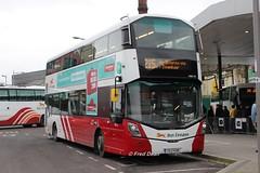Bus Eireann VWD73 (172C4399). (Fred Dean Jnr) Tags: buseireann cork february2018 volvo b5tl wright eclipse gemini buseireannroute215 vwd73 172c4399 parnellplacebusstation