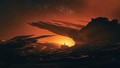 No Time (Wladimir_J) Tags: sunset sun sunlight sundown sunflare sunshine sunrise 3d art artwork digitalart