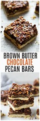 Brown Butter Chocola (alaridesign) Tags: brown butter chocolate pecan bars