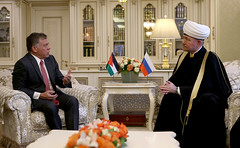 HMKingMuftie (Royal Hashemite Court) Tags: kingabdullahii kingabdullah jordan russia moscow chairman mufties council sheikh ravil gaynutdin cathedral mosque جلالة الملك عبدالله الثاني رئيس مجلس الافتاء روسيا الشيخ راوي مسجد الجامع