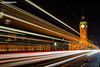 Big Ben and Westminster Bridge (Nigel Blake, 15 MILLION views! Many thanks!) Tags: bigben westminsterbridge big ben westminster bridge london nigelblakephotography nigelblake lighttrails light buses headlights rear lights qe2tower queenelizabethtower