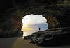King Low (Omnitrigger) Tags: cave beach sunset california landscape seacave omnitrigger