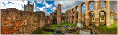 St Botolph's priory Colchester (Mirrorless for me) Tags: priory ruins panorama adobe photoshop lightroom samsung galaxys8